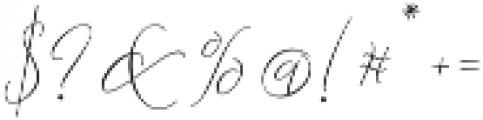 Lemans Pen Script Light otf (300) Font OTHER CHARS