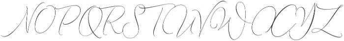 Lemans Pen Script Light otf (300) Font UPPERCASE