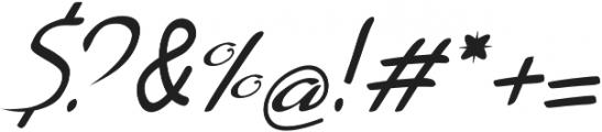 Lemillon Italic otf (400) Font OTHER CHARS