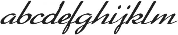 Lemillon Italic otf (400) Font LOWERCASE