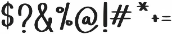 Lemon Lime Octopie otf (400) Font OTHER CHARS