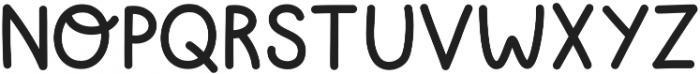 Lemon ttf (400) Font UPPERCASE