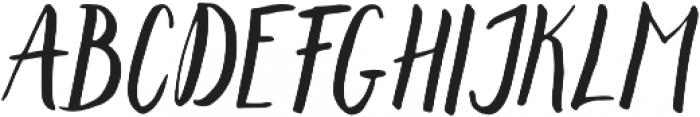 Lemonfish otf (400) Font UPPERCASE