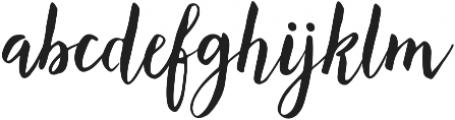 Lemonfish otf (400) Font LOWERCASE
