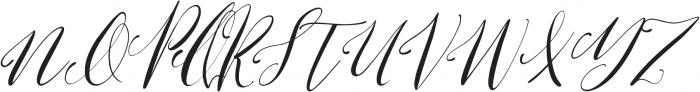Lemons & Soda Italic otf (400) Font UPPERCASE