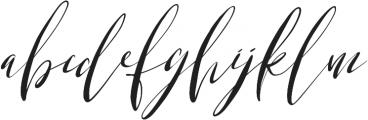 Lemons & Soda Italic otf (400) Font LOWERCASE