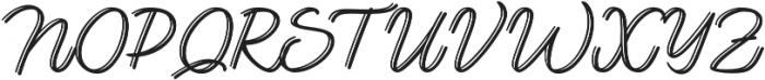 Lento display otf (400) Font UPPERCASE