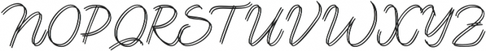 Lento double otf (400) Font UPPERCASE