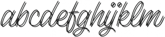 Lento double otf (400) Font LOWERCASE