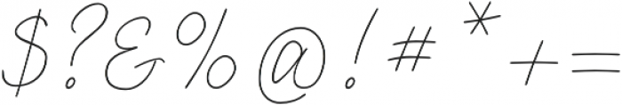 Lento otf (400) Font OTHER CHARS