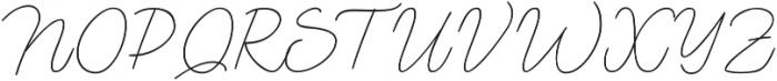 Lento otf (400) Font UPPERCASE