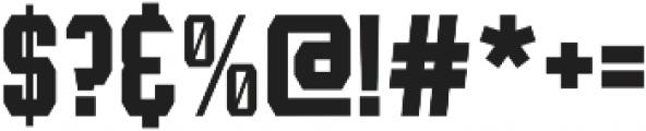 Leophard Bold otf (700) Font OTHER CHARS