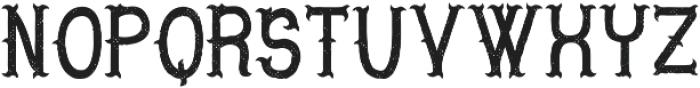 LesterFont Aged otf (400) Font UPPERCASE