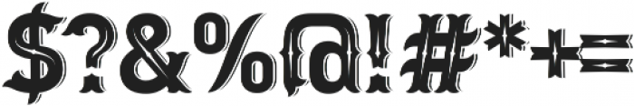 Letter Head otf (400) Font OTHER CHARS