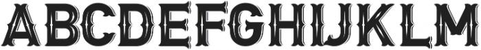 Letter Head otf (400) Font LOWERCASE