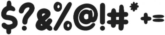 Letter Kids otf (400) Font OTHER CHARS