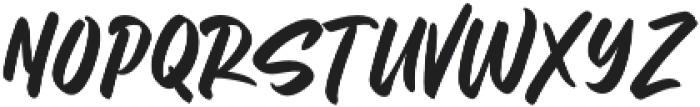 Letter Marker otf (400) Font UPPERCASE