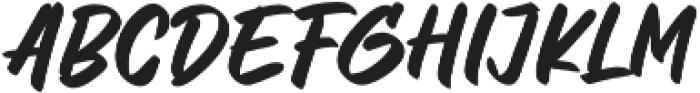 Letter Marker otf (400) Font LOWERCASE