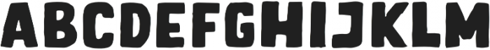 Letter Sketch Bold otf (700) Font UPPERCASE