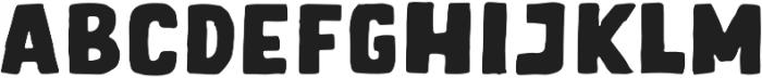 Letter Sketch Bold otf (700) Font LOWERCASE