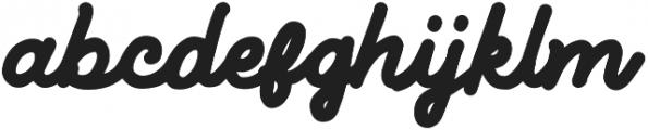 Letterent otf (400) Font LOWERCASE