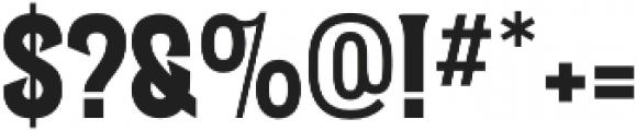 Letterpress Script otf (400) Font OTHER CHARS