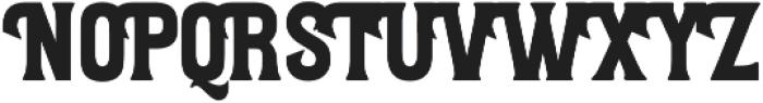 Letterpress Script otf (400) Font UPPERCASE