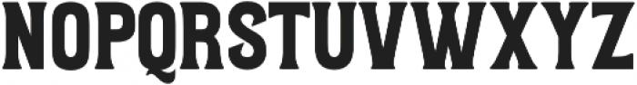 Letterpress Script otf (400) Font LOWERCASE