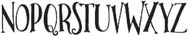 Lettersmith otf (400) Font UPPERCASE