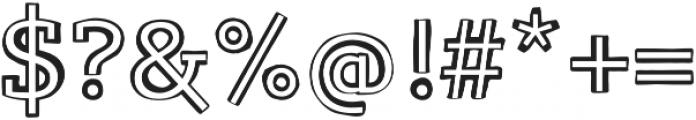 Lev Serif otf (300) Font OTHER CHARS