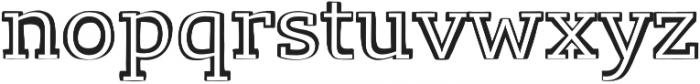 Lev Serif otf (300) Font LOWERCASE