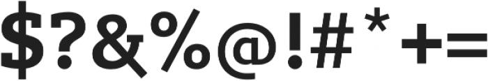 Lev Serif otf (700) Font OTHER CHARS