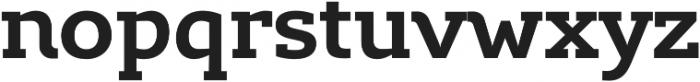 Lev Serif otf (700) Font LOWERCASE