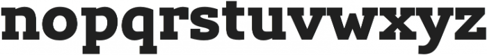Lev Serif otf (900) Font LOWERCASE