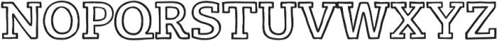 LevSerif Handline otf (400) Font UPPERCASE