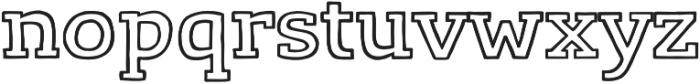 LevSerif Handline otf (400) Font LOWERCASE