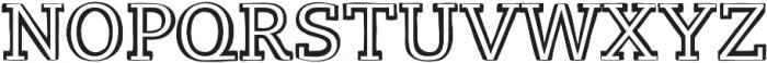 LevSerif Handrawlight otf (300) Font UPPERCASE