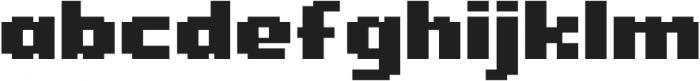 Level Up otf (400) Font LOWERCASE