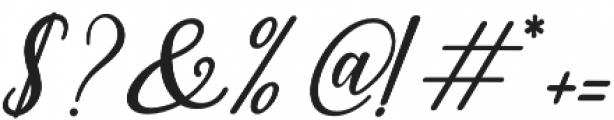 leighton Regular otf (400) Font OTHER CHARS