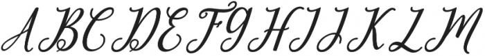 leighton Regular otf (400) Font UPPERCASE