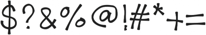 letscallherTally otf (400) Font OTHER CHARS