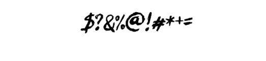 Let's Do This Custom Font Font OTHER CHARS