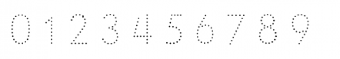 Le Havre Layers Dotted Font OTHER CHARS