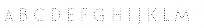 Le Havre Layers Dotted Font LOWERCASE