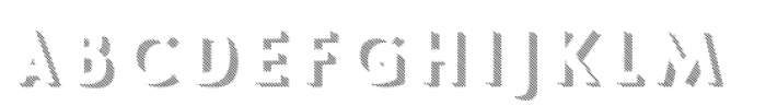 Le Havre Layers Shadow Diag Font LOWERCASE