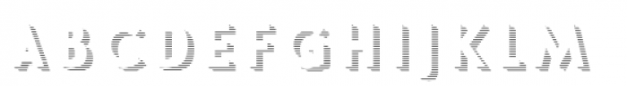 Le Havre Layers Shadow Horizontal Font LOWERCASE