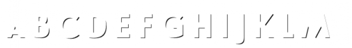Le Havre Layers Shadow Small Font LOWERCASE