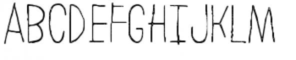 LeOsler Stamp Light Font UPPERCASE