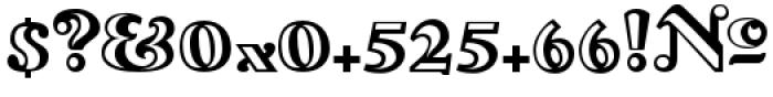Lexington Handtooled Font OTHER CHARS