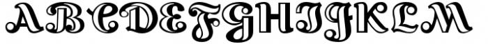 Lexington Handtooled Font UPPERCASE